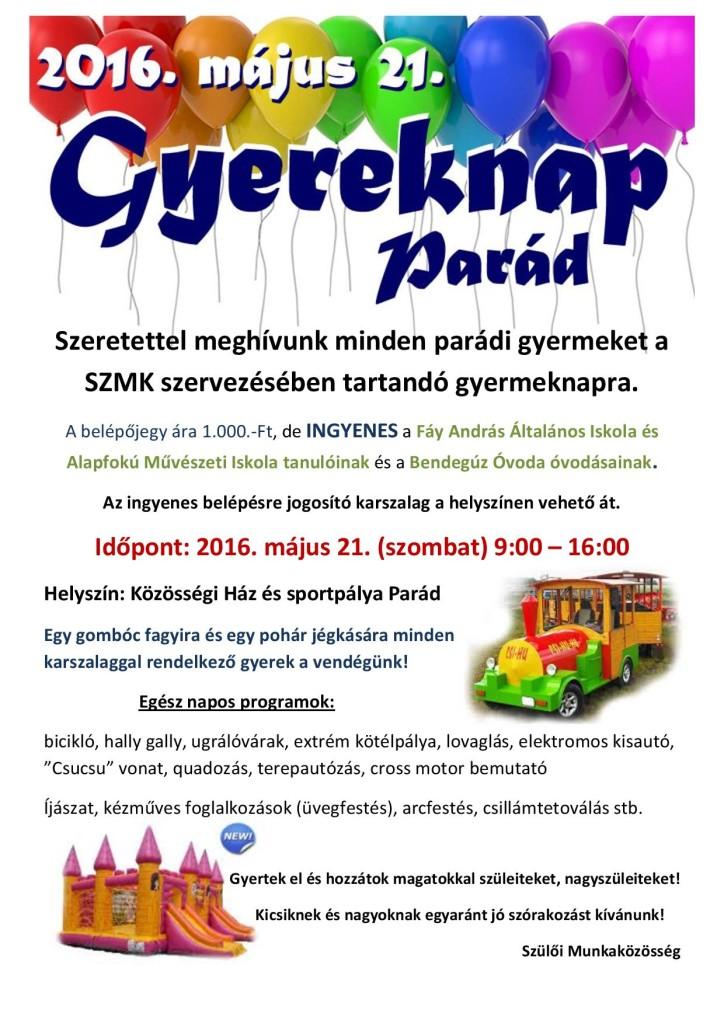 Gyereknap 2016 (plakát)