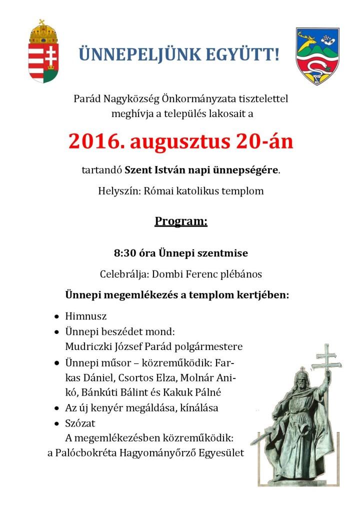 2016. augusztus 20. (plakát)