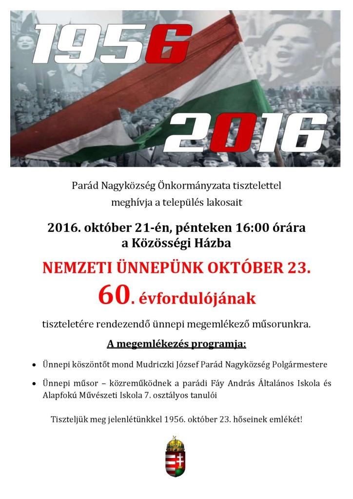 2016. október 23. (plakát)