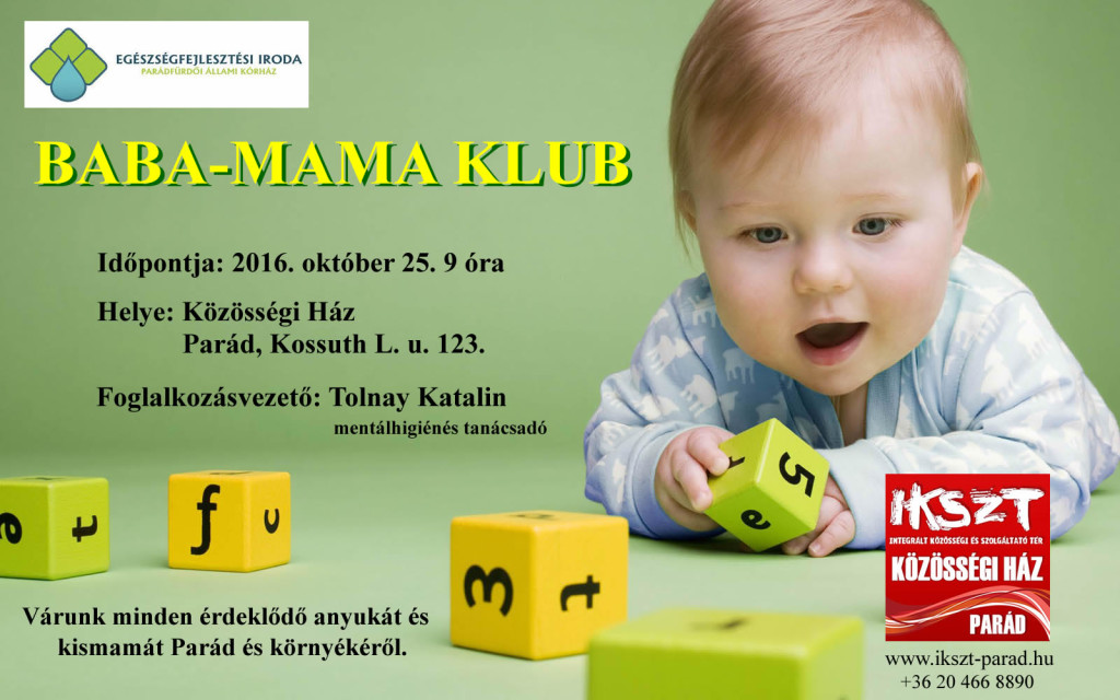 Baba-Mama Klub (plakát)